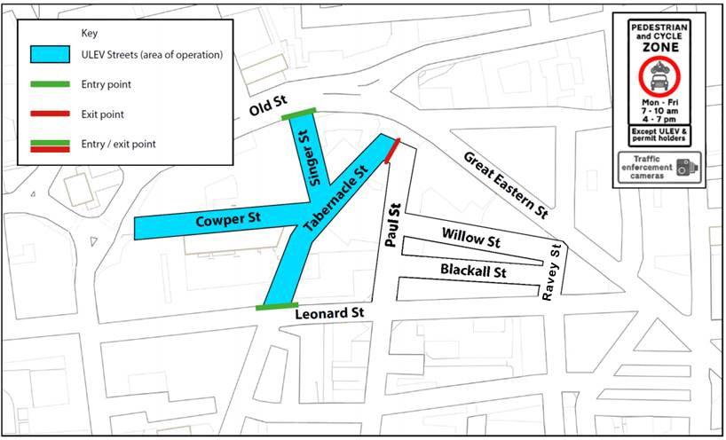 map shoreditch
