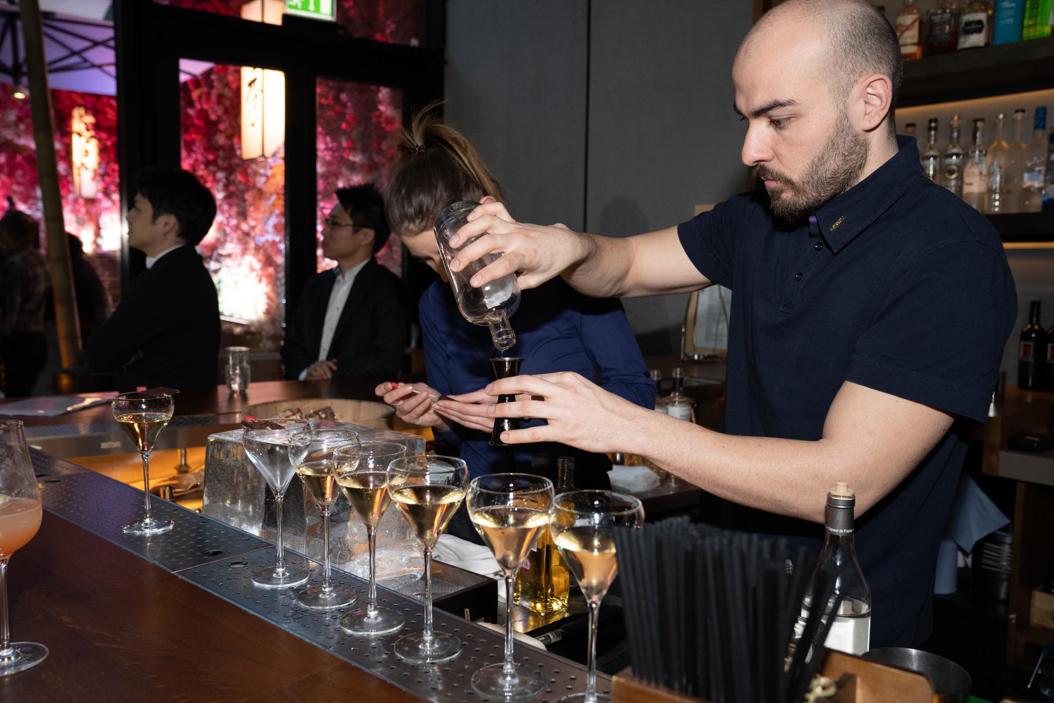 cocktails at nobu hotel shoreditch