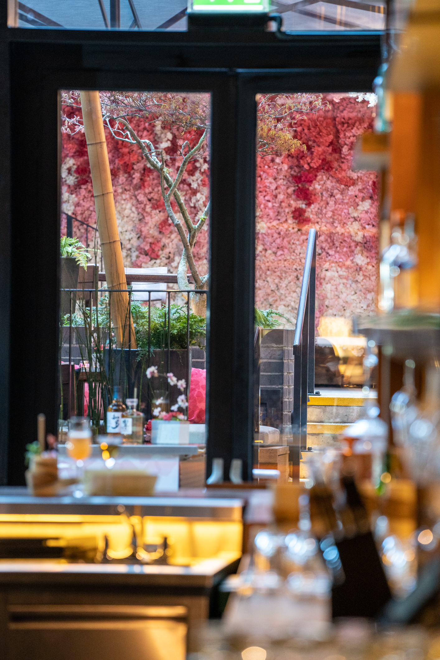 restaurant at nobu hotel shoreditch