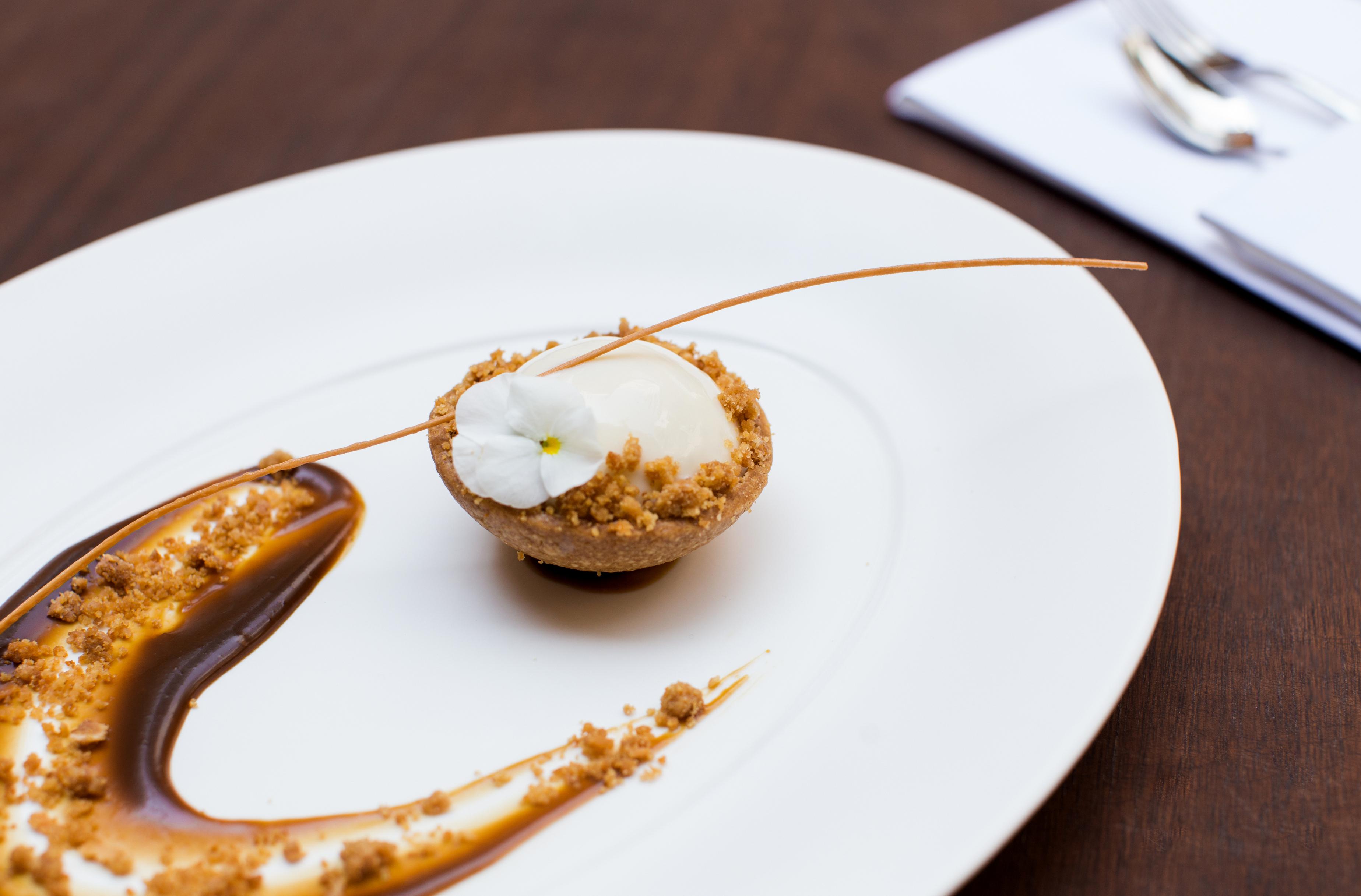 dessert at nobu hotel shoreditch