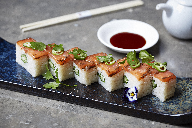 Nobu Shoreditch Breakfast Sushi