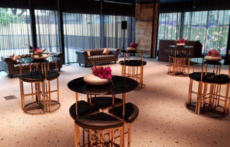 Cocktail Reception Event Set Up Nobu Hotel London Shoreditch