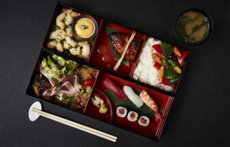 Bento Box Lunch Meeting Nobu London Shoreditch