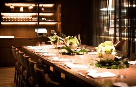 Private Dining Nobu Hotel London Shoreditch